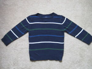 The Children's Place Boys Long Sleeve Striped Sweaters