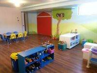 Bilingual daycare in Limoges - only 2 spots left!