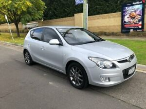 2010 Hyundai i30 FD MY11 SLX Silver 5 Speed Manual Hatchback Maidstone Maribyrnong Area Preview