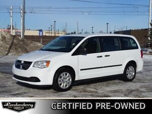 2015 Dodge Grand Caravan SE Accident Free,  3rd Row,  Bluetooth,