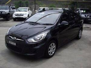 2014 Hyundai Accent Sedan Waitara Hornsby Area Preview