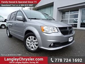 2014 Dodge Grand Caravan SE/SXT ACCIDENT FREE w/ U-CONNECT BL...