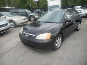 2002 Honda Civic ( AUTOMATIQUE )