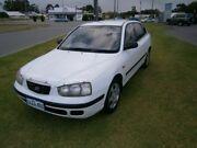 2001 Hyundai Elantra XD GL White 4 Speed Automatic Sedan Maddington Gosnells Area Preview