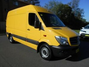 2014 Mercedes-Benz Sprinter 906 MY14 313 CDI MWB Yellow 6 Speed Manual Van Bankstown Bankstown Area Preview