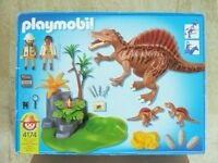 Playmobil 4174 Spinosaurus with Dino Nest and 2 Babies Boxed Age 4+