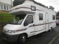 SWIFT KON TIKI 640L SIX BERTH, REAR LOUNGE MOTORHOME FOR SALE