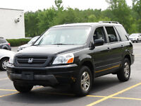 2004 Honda Pilot EX-L, SUV with RES, LOW KM's!!!