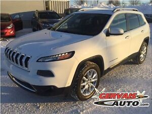 Jeep Cherokee Limited V6 4x4 Navigation Cuir Toit Ouvrant MAGS 2