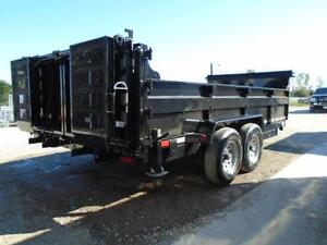 16FT HEAVY DUTY 7 TON DUMP TRAILER - SAVE MONEY WITH ACTION! London Ontario image 3