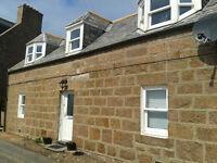 Stunning 3 bed unfurnished coastal cottage to let £750 per month