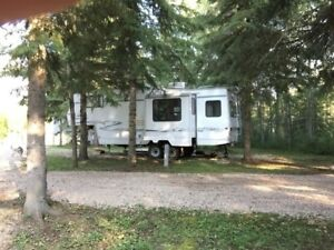 FULLY SETUP RV RENTAL ON A SITE READY TO USE