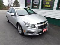 2015 Chevrolet Cruze 1LT for only $132 bi-weekly all in!