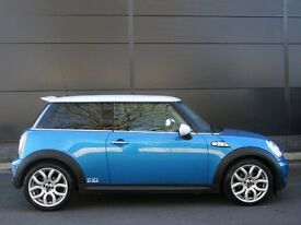Stunning blue Mini Cooper s for sale!