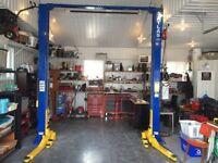 Auto equipment Annual Inspection Service / Hoist Install
