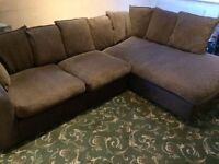 Large Corner Sofa Set 8ft x 6ft Approx.