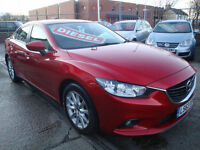 63 MAZDA 6 D SE 150 BHP 4 DOOR DIESEL £20 A YEAR ROAD TAX SATNAV