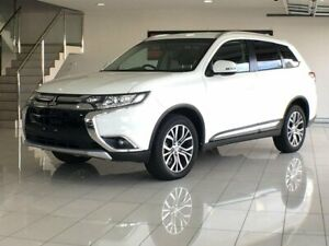 2017 Mitsubishi Outlander ZK MY17 LS 4WD White 6 Speed Constant Variable Wagon Ashmore Gold Coast City Preview