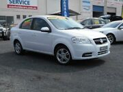 2010 Holden Barina TK MY10 White 4 Speed Automatic Sedan Tuggerah Wyong Area Preview