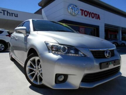 2012 Lexus CT 200H. Hybrid ZWA10R X Special Edition Silver Continuous Variable Hatchback