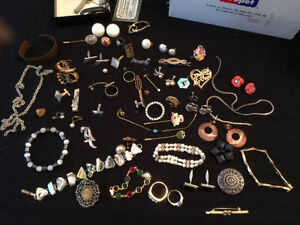 Antique and Vintage Jewellery, watches, rings, bit of everything