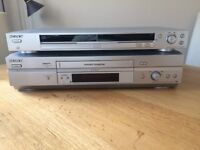Pair Of Sony DVD And HiFi Stereo Players