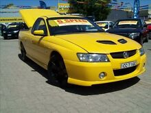 2006 Holden Commodore VZ MY06 S Thunder 6 Speed Manual Utility Evanston South Gawler Area Preview