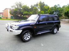 2003 Nissan Patrol GU III MY2003 ST Blue 4 Speed Automatic Wagon Woodridge Logan Area Preview