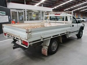 2004 Holden Rodeo RA LX White 5 Speed Manual Cab Chassis Maryville Newcastle Area Preview