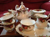 Royal Albert, Old Country Roses, Tea service