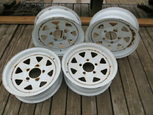 "13"" Trailer Rims (4 Rims) 5 bolt (13 X 4.5 B)"