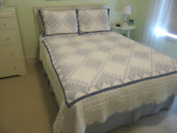 Quilt set for double bed.