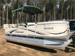 ***CLEAN AND CHEAP***2007 20' STARCRAFT PONTOON 40HP EXTRA CLEAN