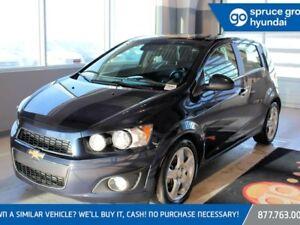 2016 Chevrolet Sonic LTZ AUTO, LEATHER, SUNROOF, BACKUP CAMERA