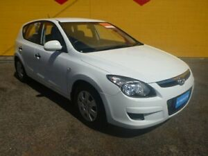 2011 Hyundai i30 FD MY11 SX White 4 Speed Automatic Hatchback Winnellie Darwin City Preview