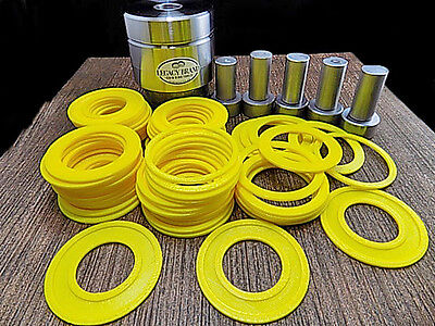 MEGA Coin Ring Punch and Spacer Set Punch 5 Different Hole Sizes FREE SHIPPING