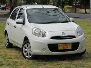 2014 Nissan Micra K13 MY13 ST White 4 Speed Automatic Hatchback Hendon Charles Sturt Area Preview