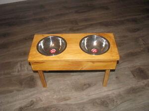 Pet Bowl Stand St. John's Newfoundland image 1