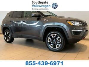 2017 Jeep Compass LEATHER | SUNROOF | NAV | HEATED SEATS | BLUET