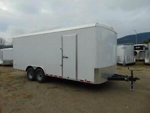 2017 Mirage 8.5 X 20 Contractor Cargo Trailer w. Barn Doors