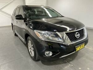 2014 Nissan Pathfinder R52 ST-L (4x2) Black Continuous Variable Wagon Beresfield Newcastle Area Preview