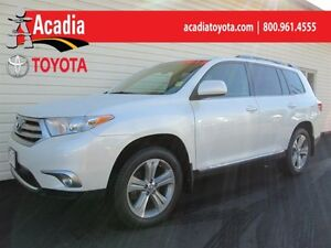 2013 Toyota Highlander 4WD Sport Pkg! Heated Leather Seats, Moon