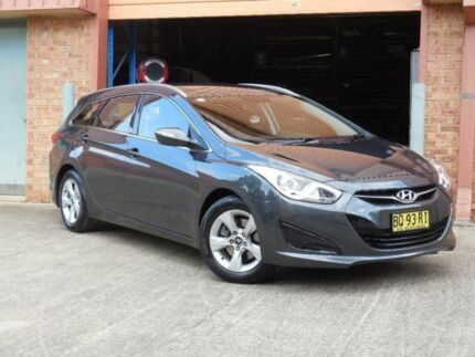 2011 Hyundai i40 VF Active Grey 6 Speed Automatic Wagon Baulkham Hills The Hills District Preview