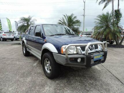 2003 Nissan Navara D22 MY2003 ST-R Blue 5 Speed Manual Utility
