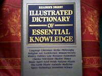 EDUCATIONAL- ILLUSTRATED DICTIONARY OF ESSENTIAL KNOWLEDGE - 1st EDITION VINTAGE 1995