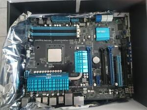 Computer motherboard/CPU and RAM