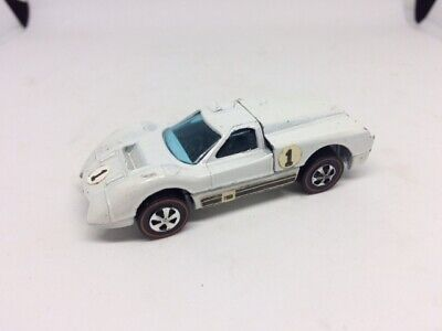 Hot Wheels Redline Ford J Car White Enamel HK 1968 NM