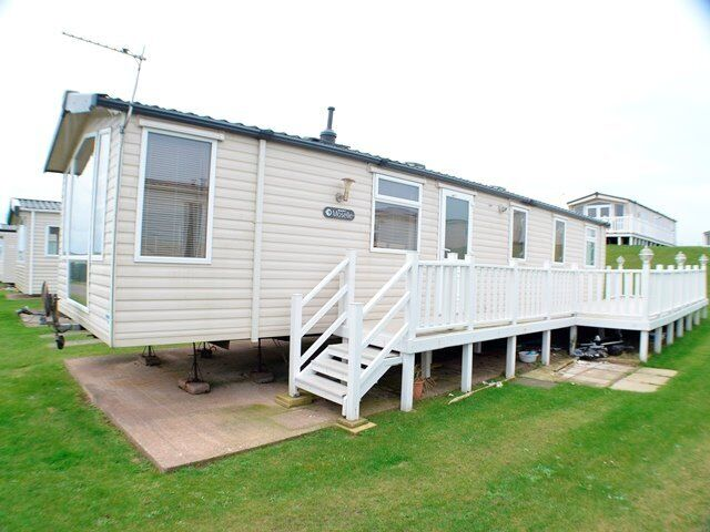 £10K OFF !! Was £34995 NOW ONLY £24,800 Caravan and Decking at Southerness Dumfries Ayr Scotland