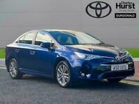 2016 Toyota Avensis 1.8 Business Edition 4Dr Cvt Auto Saloon Petrol Automatic