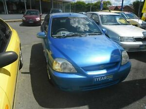 2003 Kia Rio BC Blue 5 Speed Manual Hatchback Eight Mile Plains Brisbane South West Preview
